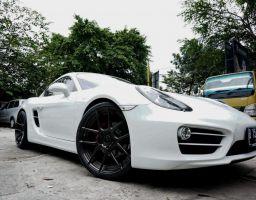 Cayman 981 White